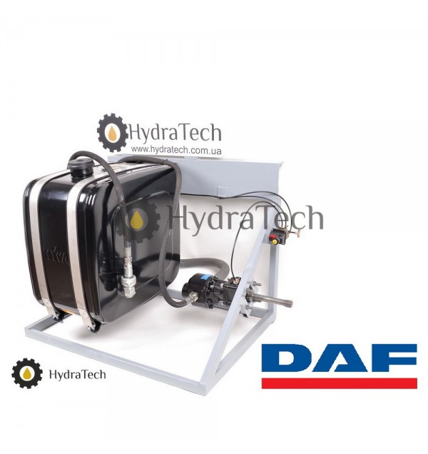 Гидравлика HYVA на тягач DAF для коробки ZF