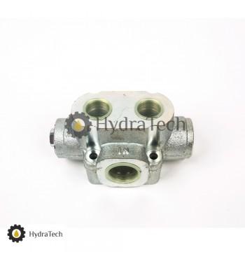 Кран HYVA гідравлічний на три виходи (пневматичне керування)