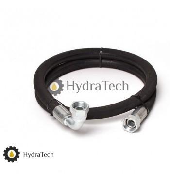 Гідравлічний шланг високого тиску 1,5м (прямий,90° )