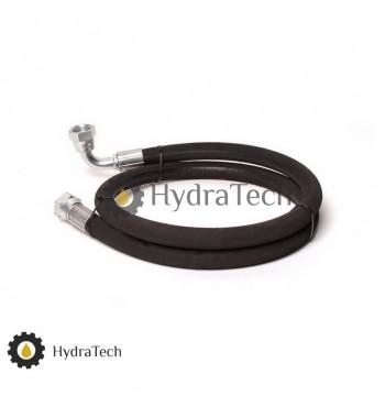 Гідравлічний шланг високого тиску  2м (прямий,90° )